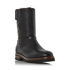 Dune - Black 'Rayner' warm lined calf boot