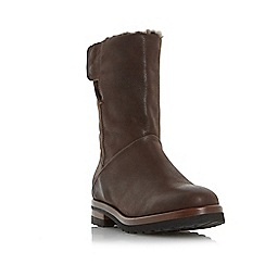 Dune - Brown 'Rayner' warm lined calf boot