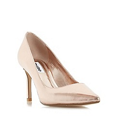 Dune - Rose 'Abbigail' pointed toe mid heel court shoe
