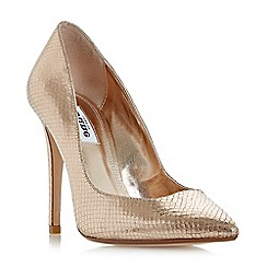 Dune - Multicoloured 'Aiyana' pointed toe high heel court shoes