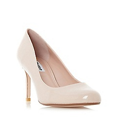 Dune - Natural 'Aggilera' round toe court shoes