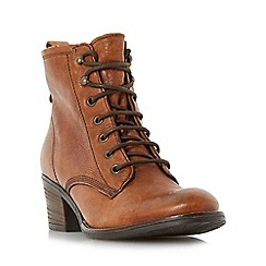 Dune - Tan 'Patsie d' warm lined ankle boot