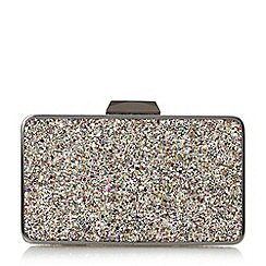 Head Over Heels by Dune - Multicoloured 'Belvire' frame detail hard case clutch bag