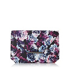 Head Over Heels by Dune - Multicoloured 'Beronica' envelope clutch bag