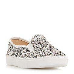 Dune - Multicoloured 'Elsaa' round toe slip on trainers