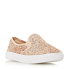 Dune - Rose 'Elsaa' round toe slip on trainers