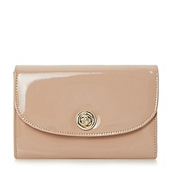Roland Cartier - Natural 'Brissa' circular turn lock clutch bag