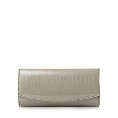 Roland Cartier - Silver 'Brona' flap over clutch bag