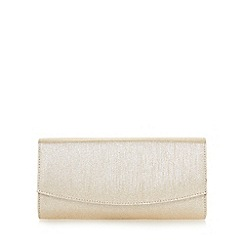Roland Cartier - Gold 'Brona' flap over clutch bag