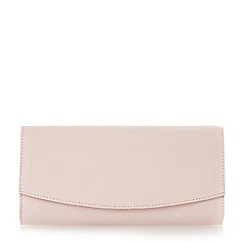 Roland Cartier - Pink 'Brona' flap over clutch bag