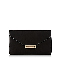 Roland Cartier - Black 'Baden' flip lock clutch bag