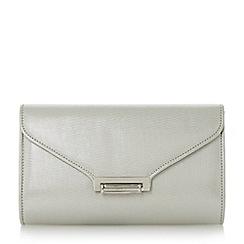 Roland Cartier - Silver 'Baden' flip lock clutch bag