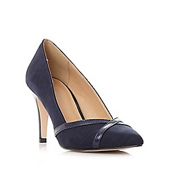 Roland Cartier - Navy 'Breena' cross over detail court shoe