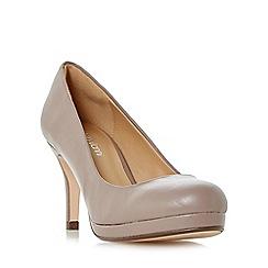 Roberto Vianni - Taupe 'Amey' platform court shoes