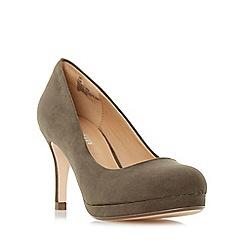 Roberto Vianni - Khaki 'Amey' platform court shoes