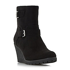 Roberto Vianni - Black 'Parton' crepe sole wedge ankle boot