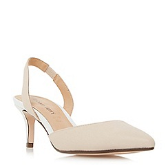 Roberto Vianni - Natural 'Carell' slingback pointed toe court shoes