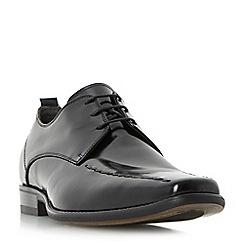 Bertie - Black 'Rhapsody' stitch detail tramline gibson shoe