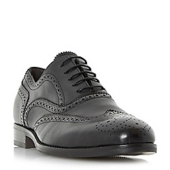 Bertie - Black 'Regulate' oxford brogue shoe