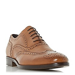 Bertie - Tan 'Regulate' oxford brogue shoe