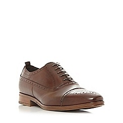 Bertie - Brown 'Renaissance' brogue toecap oxford shoes