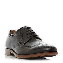 Bertie - Black 'Pablo' wingtip brogue shoes