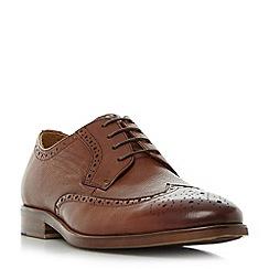 Bertie - Tan 'Pablo' wingtip brogue shoes