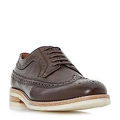 Bertie - Brown 'Pusha' Gibson brogue shoe