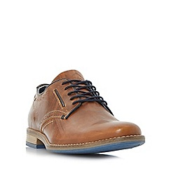 Dune - Tan 'Brewer' piped gibson shoess