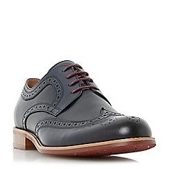 Dune - Blue 'Radcliffe' derby brogue shoe