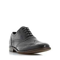 Dune - Black 'Rugby' oxford brogue shoes