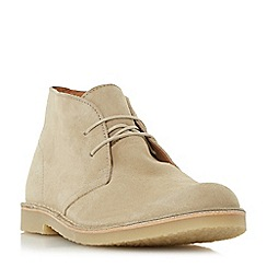 Dune - Natural 'Calabassas' crepe sole desert boot