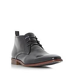 Dune - Black 'Murray' formal chukka boots