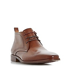 Dune - Tan 'Murray' formal chukka boot