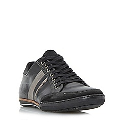 Dune - Black 'Tito' stripe detail trainers