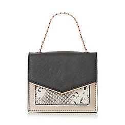 Dune - Grey 'Starla' mini bag card holder