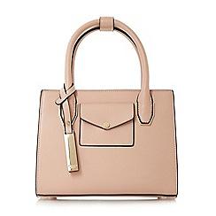Dune - Light pink 'Dinidertina' mini concertina top handle bag