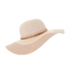 Dune - Light pink 'Fedana' flopspy straw hat