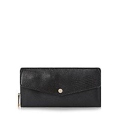 Dune - Black 'Kiara' envelope front purse