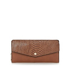 Dune - Tan 'Kiara' envelope front purse