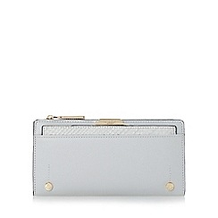 Dune - Grey 'Kerrie' slim purse with removable card holder
