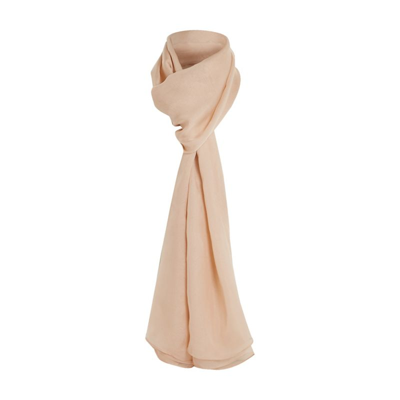 Dune Natural 'Lorley' silk scarf