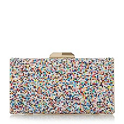 Dune - Multicoloured 'Bonansa' multi coloured beaded clutch bag