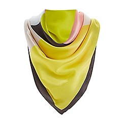 Dune - Multicoloured 'Lolaa' colour block silk scarf