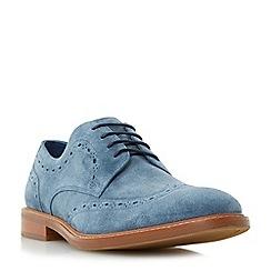 Dune - Blue 'Bampton' casual brogue shoes