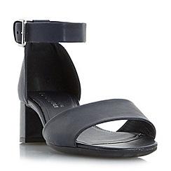 Roberto Vianni - Navy 'iden' comfort two part block heel sandals