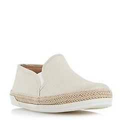 Roberto Vianni - Gold 'Ester' espadrille trim slip on shoes