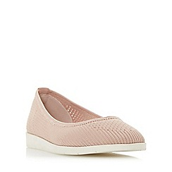Roberto Vianni - Natural 'Elly' knitted sporty sole flat shoes