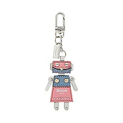 Dune - Pink 'Scully' robot keyring bag charm