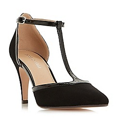 Roberto Vianni - Black 'Charlot' t-bar mid heel court shoes